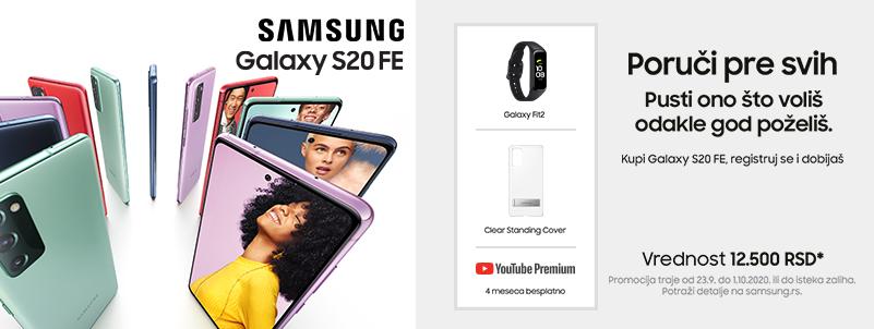 Samsung Galaxy S20 FE Preorder