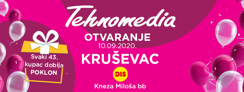 Svečano otvaranje nove Tehnomedia prodavnice u Kruševcu