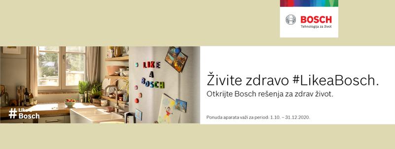 Živite zdravo – Bosch