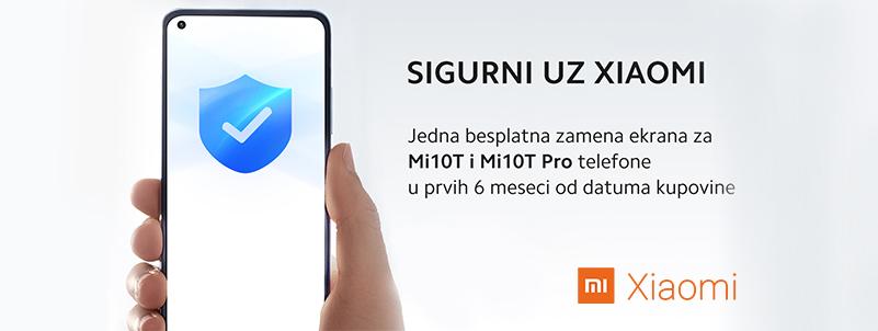 Xiaomi dodatna garancija na zaštitu ekrana