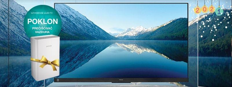 Uz TV čist vazduh na poklon