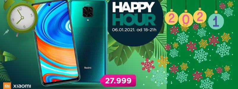 Božićni Xiaomi Happy hour